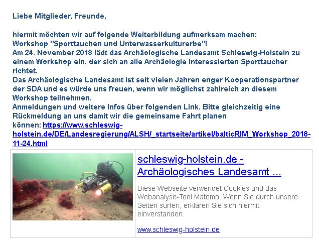 Workshop - Unterwasserkulturerbe...